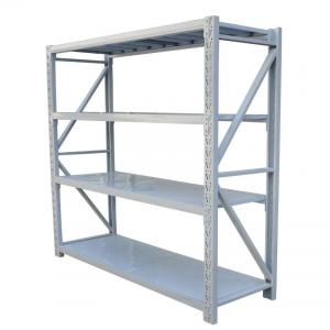 China Four Tiers Wide Span Shelving Each Layer Loading Weight 150kg - 300kg on sale