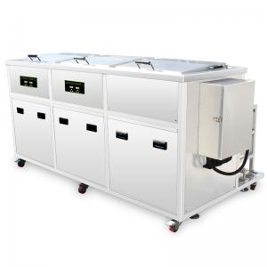 China 360L Rising Drying Ultrasonic Cleaning Equipment Basket Size 1000* 500* 400mm on sale