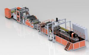 China GWS120-1000, GWP75-1000, GWP95/52-1500  PET PLA sheet extrusion line on sale