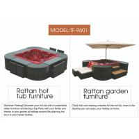 the spa furniture with Jacuzzi systems