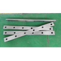 High Speed Steel Cutting Blade / Metal Rotary Shear Blades For Cut Sheet Metal