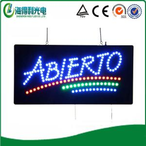 China HSA0081-30 9.5x19 LED abierto sign 2014 new china xxx video led vision display screen on sale