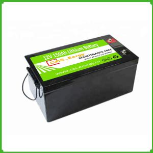 China Lithium ion Batteries 12V 150Ah Lifepo4 Rechargeable Solar Storage Battery Pack on sale