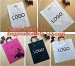 Biodegradable ldpe soft loop handle plastic bags with customized logo printed,Corn Starch Made Printed Biodegradable Sof