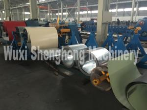China PE PVD Coated Steel Coil Wall Panel Roll Forming Machine Durable on sale