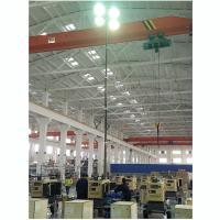 China 9m height pneumatic telescopic mast for lighting tower 4x1000 Metal Halide Lamps lighting mast tower lighting tower mast on sale
