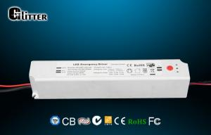 China 40W Waterproof Emergency LED Driver , LED Power Supply For Downlights on sale