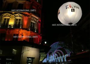 China AC230V 50HZ White Inflatable Led Light Balloon T - Plux 18 Technology For Confrence Events on sale