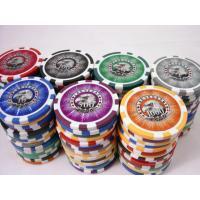 China Dublin Hotel Poker Chip Set on sale