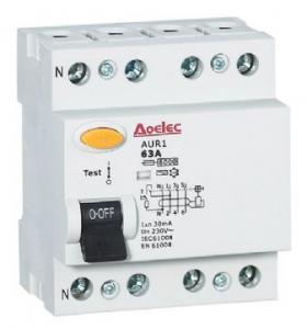 China HEL1-63 Residual current circuit breaker RCCB on sale