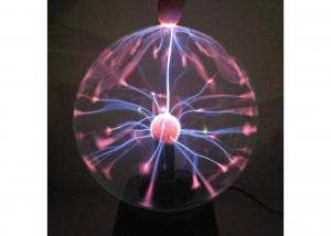China Indoor Decoration Plasma Light Ball 5 inch 360° Viewing Angle Plasma Nebula Ball on sale