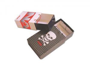 China F-Flute Corrugated Cardboard Paper Box , Slide Drawer Custom Printing Paper Box on sale