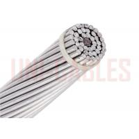 China 4 AWG Overhead Line Conductor , Aluminum Clad Steel Reinforced Bare Conductor on sale