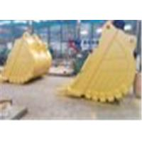 HARDOX500 Material Excavator Rock Bucket With Large Stowing Surface
