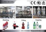 cadena de producción purificada carbonatada botella plástica del agua de la máquina de rellenar de la bebida 4.0kw