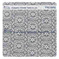 China Sunflower Star soft  Bush Nylon & Cotton lace fabric for lady dress on sale
