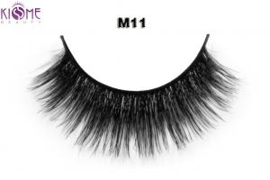 China Charming  Glamour Horse Hair Lashes Cross Style Free From Chemical Treatment on sale