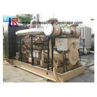 High Efficiency Natural Gas Generators 500kVA Energy Saving Open / Silent Type
