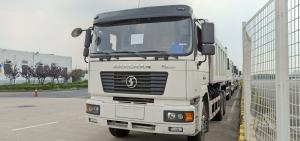 China White F2000 6X4 Dump Truck  21-30 Tons Euro 2 Right Hand Drive Tipper on sale
