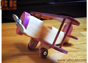 China wooden toy plane Child gift wooden little plane play toy for children 8*9 Inches on sale
