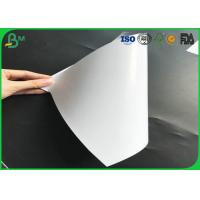 China Great Smoothness 80g - 135g Two Sides Coated High Glossy Art Paper For Printing on sale