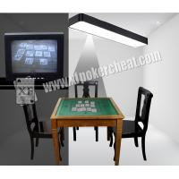 China Lamp Camera For Backside Marked Playing Cards New Ink Anti Detecting on sale