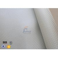 Satin Weave 220gsm Silver Coated Fabric Fiberglass Cloth Thermal Insulation