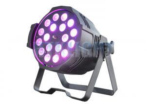 China 18x18W RGBWA + UV Arena Par Zoom Elation Led Theatre Spotlights Sound Control Mode on sale