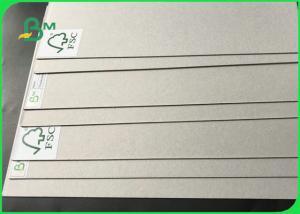 China FSC Certified 2mm Folding Resistance Double Sides Grey Carton Board For Folder on sale