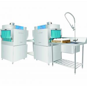 Quality Door Type Dishwasher 10KW / 28KW 1600H 900W 750D , Restaurant Grade Dishwasher for sale