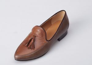 China Girls Ballet / Ballerina Flat Shoes With Cow Leather Breathable on sale