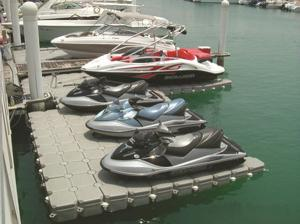 Quality HDPE pontoon for jetski docks for sale