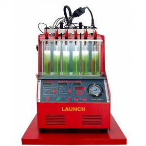 China 6 Cylinders Fuel Injector Cleaner Machine , High Efficiency Launch CNC602A Tester on sale
