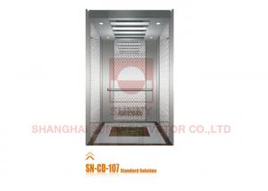 China Stainless Steel Panel Elevator Cabin Decoration For Residential Buildings on sale