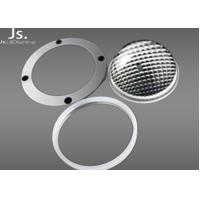 80deg Anti - Glare Symmetrical Optical Glass Lens For 50-200w Cob High Bay Lamp