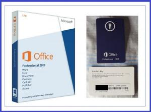 China MS Office 2013 Professional Product Key , Office 2013 Retail Key Full Version on sale
