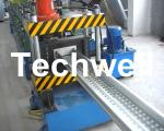 16 Steps Forming Station Cable Tray Profile / Cable Ladder Roll Forming Machine