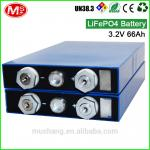 home solar energy storage 3.2v 66ah lifepo4 battery cell popular in USA