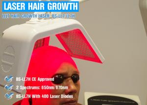 China Baldness Treatment 650nm Laser Hair Regrowth Device With Controlled Separately on sale