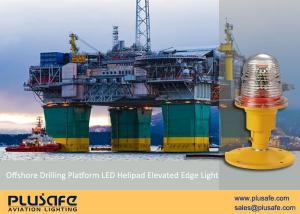 China Offshore Drilling Platform Helipad Visual Aids Edge Marking for Pilot Safety Night Landing on sale