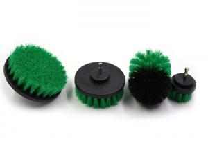 China Eco - Friendly Drill Cleaning Brush Floor Scrub Brushes Set Multi Color on sale