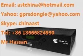 China Q-Sat Q15G 45USD gprs sim card DSTV USB WIFI decoder on sale