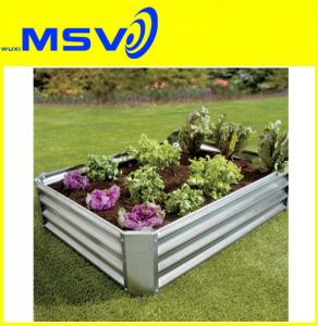 China Galvanized Garden Planter Boxes on sale