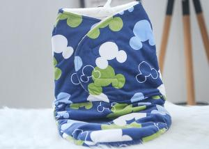 China 30*40 Anti - Choking Baby Swaddle Blankets For Picnic / Airplane on sale