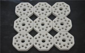 China Industrial Porous Ceramic Disc , Alumina Heating Porous Ceramic Plate on sale