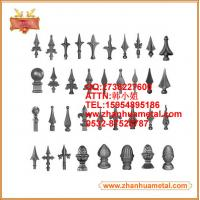 ornamental spear for garden fence and gate,wrought iron spear,spear points,spearhead