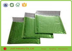 China Shock Resistant Kraft Bubble Bags , Green Recyclable Plastic Bubble Envelopes on sale