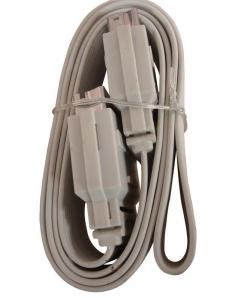 China Male To Male Flat Scart Cable Gray 25ft , 10M , Customized on sale