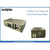 UAV Long Range COFDM Video Transmitter 100KM Wireless Digital Transmitter