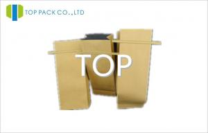 China PET / BOPA Tin Tie Custom Printed Kraft Paper Bags For Facial Mask / Detergent Powder on sale